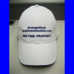 Cap with website name