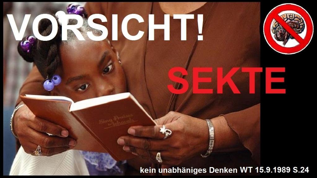 Zeugen Jehovas Sekte