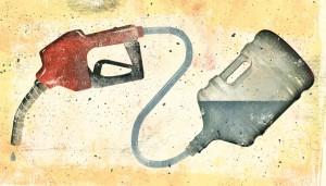 water als benzine