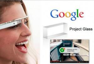 Google bril - Google glasses