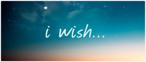 ik wens...