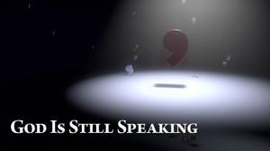 God spreekt nog steeds