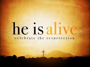 Hij leeft - Pasen