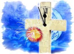 eindtijd - klok - kruis