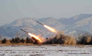 raketlanceringen Noord Korea