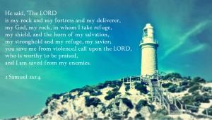 2 Samuël 22, vers 2-4