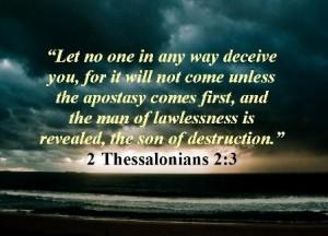 2 Thessalonicenzen 2, vers 3