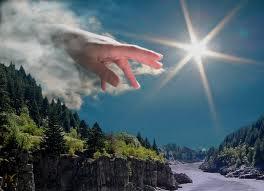 God greep in - Gods hand