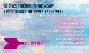 Jesaja 40, vers 29-31