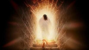 Jesus became alive again