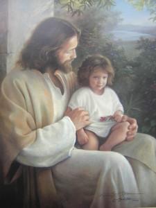 Jezus en kinderen