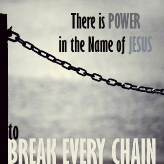 bevrijding in jezus naam
