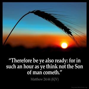 Mattheüs 24, vers 44