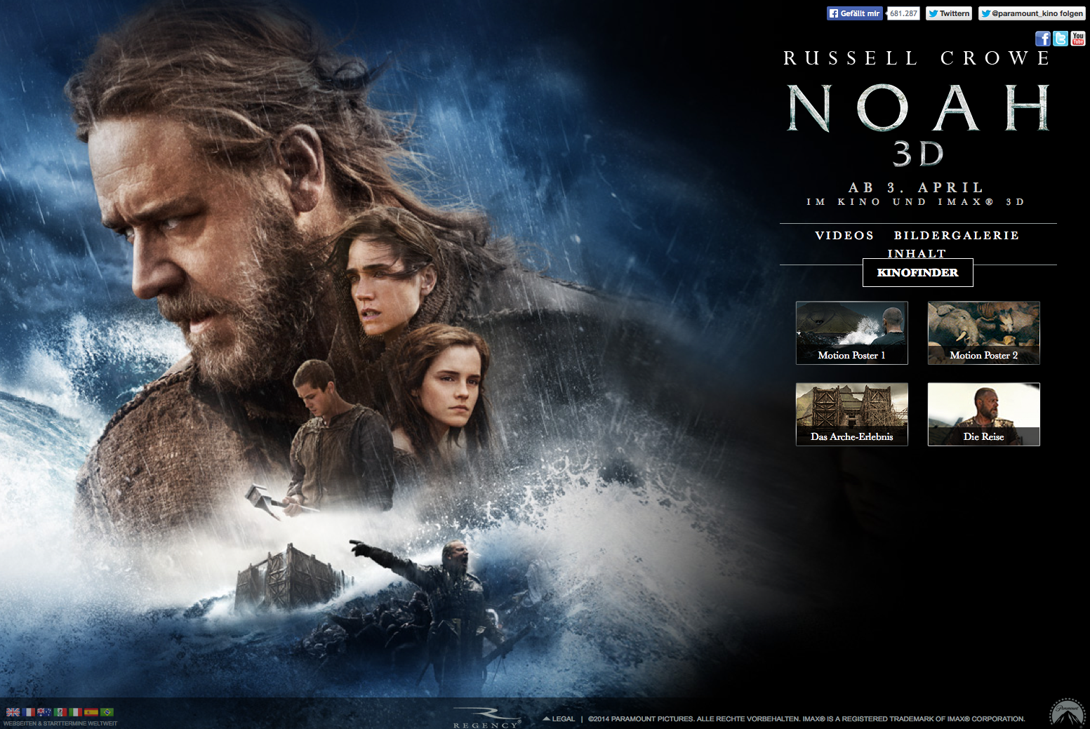 Noah Movie - Home | Facebook