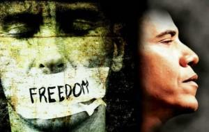 Obama einde vrijheid