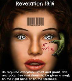 Openbaring 13, vers 16 merkteken van het beest