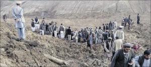 aardverschuiving Afghanistan 2014