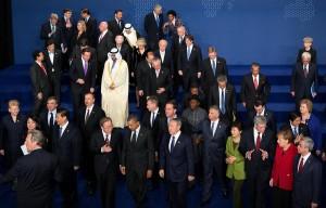 antichrist Obama met wereldleiders