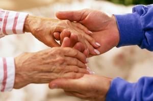 bemoedig de ouderen