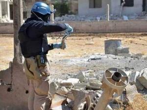 chemische wapens - Syrië