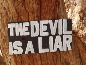 de duivel is een leugenaar