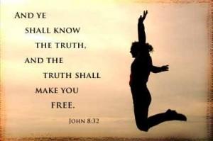 de waarheid zal u vrijmaken