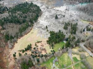 enorme modderstroom VS maart 2014