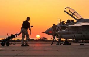 gevechtsvliegtuigen op Cyprus voor aanval Syrië