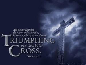 overwonnen door het Kruis