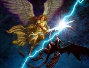 strijd in de hemelse gewesten