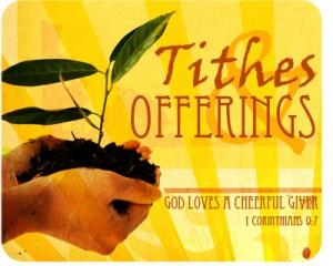 tienden, giften - God heeft de blijmoedige gever lief