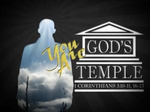 u bent Gods tempel