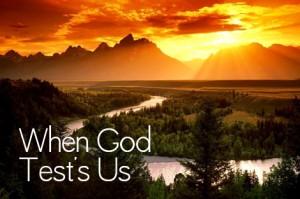 wanneer God ons test
