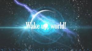 word wakker, wereld!