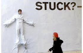 you are stuck to the world