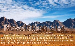 Revelation 21, verse 4