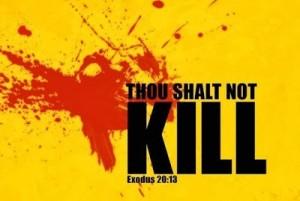 thus speaks the Lord stop murdering