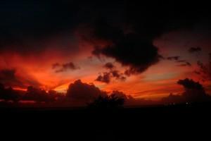 world sunset