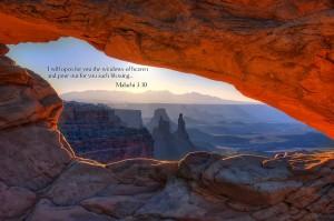 Maleachi 3, verse 10 tithes