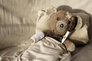 bear is sick