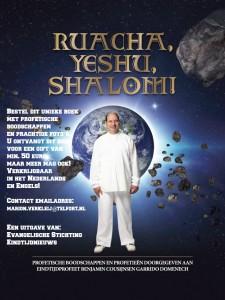 Advertentie boek RUACHA YESHU SHALOM