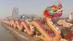 China dragon worship