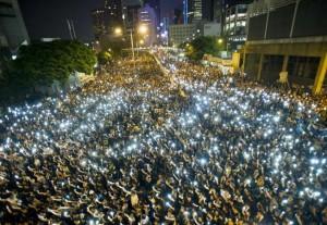 protestors China