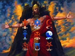 the coming world religion