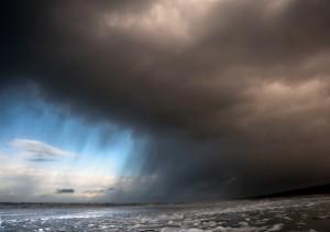 Heavy storm in the Netherlands Jan 10, 2015