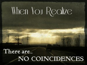 there is no coincidence
