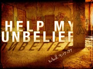 unbelief and doubt
