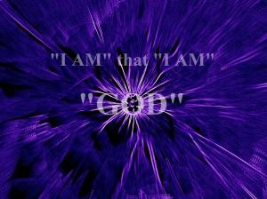 I am that I am, God