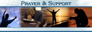 prayer and support
