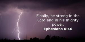 Ephesians 6, verse 10